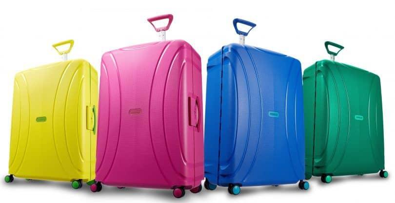varias maletas Lock'n'Roll de American Tourister