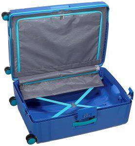 interior de la maleta Lock'n'Roll de American Tourister