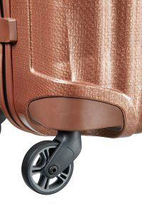 ruedas de la maleta Cosmolite de Samsonite
