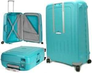 maleta Samsonite S'Cure turquesa