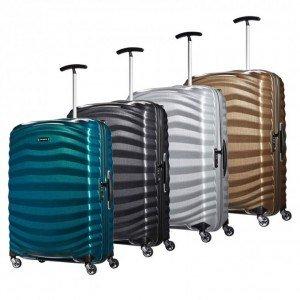 varias maletas Lite Shock de Samsonite