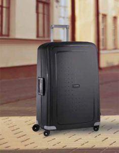 maleta S'Cure de Samsonite negra