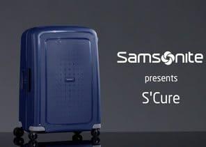 maleta S'Cure de Samsonite azul