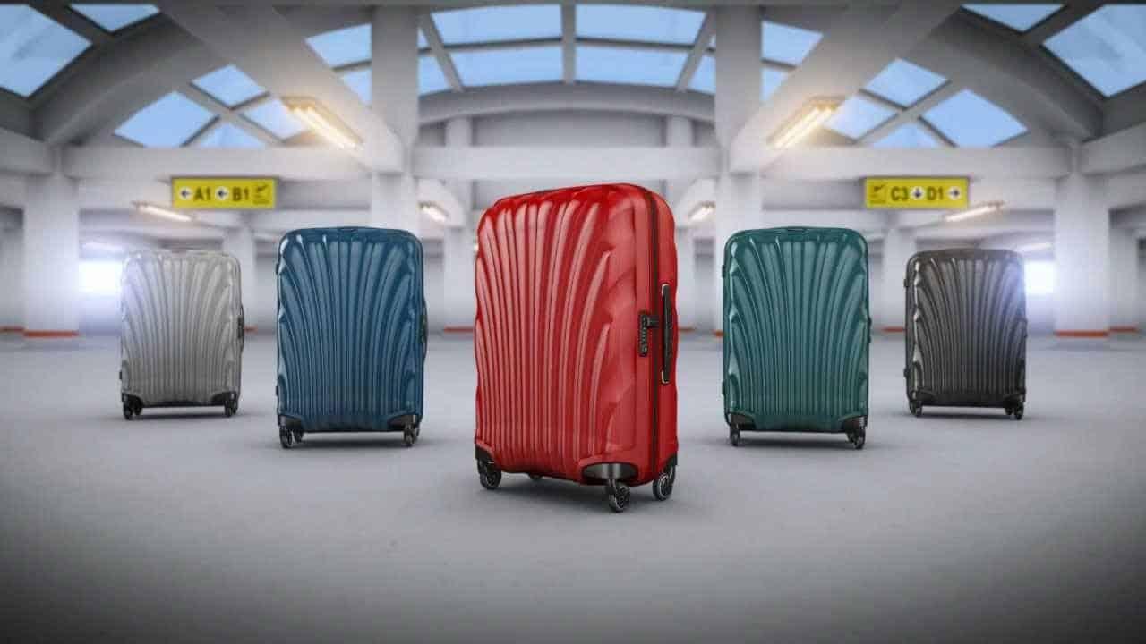 varias maletas Cosmolite de Samsonite
