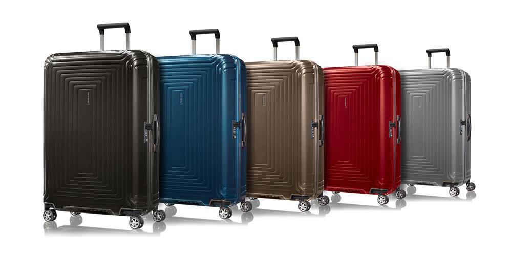 varias maletas Neopulse de Samsonite