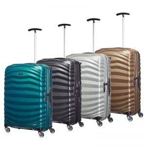 varias maletas Lite Shock Samsonite