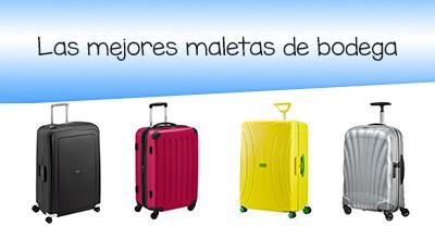 673ec6608 Las mejores maletas para facturar [tu equipaje a salvo en el avion ✈ ]
