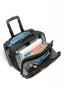 maleta para portátil con compartimentos