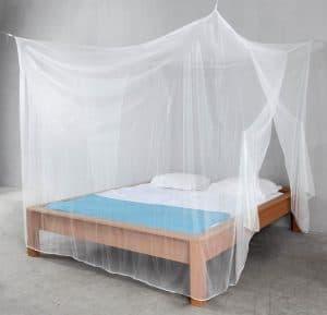 mosquitera de viaje cuadrada